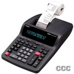 CASIO DR210TM 12 DIGIT - DESKTOP PRINTING CALC, DR210TM