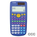 CASIO FX55+ DUAL POWER - 10+2 DIGIT FRACTION CALC, FX55PLUS