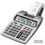 CASIO HR100TM+ 12 DIGIT - DESKTOP PRINTING CALC, HR100TMPLUS