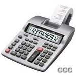 CASIO HR150TM+ 12 DIGIT - DESKTOP PRINTING CALC, HR150TMPLUS