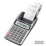 CASIO HR8TM+ 12 DIGIT - PORTABLE PRINTING CALC, HR8TMPLUS