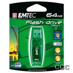 EMTEC C600 CANDY (GREEN) - LQ-64GB USB FLASH DRIVE, MD64GB