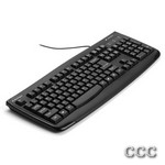 KENSINGTON ANTI-MICRO - WASHABLE KEYBOARD-BLACK, K64407