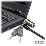 KENSINGTON K64590 THIN - MICROSAVER NOTEBOOK LOCK, K64590