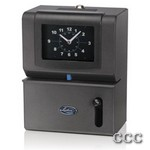 LATHEM 2101 MANUAL CLOCK - MONTH,DATE,1-12 HR/MIN, 2101