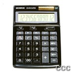 MONROE 240Z BLK 12 DIGIT - LRG DISPLAY DESKTOP CALC, 240ZB