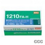 MAX HD-12F FLAT CLINCH - 1000PK 9/16