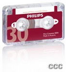 PHILIPS 30 MINUTE - MINI CASSETTE TAPE, LFH0005