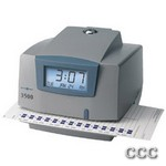 PYRAMID 3500 ELECTRONIC - TIME RECORDER AND STAMP, 3500