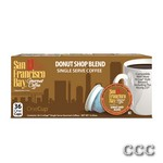 SAN FRANCISCO BAY ONECUP - LQ-36-DONUT SHOP COFFEE, 33005