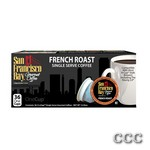 SAN FRANCISCO BAY ONECUP - LQ-36-FRENCH ROAST COFFE, 33052
