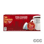 SAN FRANCISCO BAY ONECUP - LQ-36-FOG CHASER COFFEE, 33059