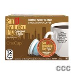 SAN FRANCISCO BAY ONECUP - LQ-12-DONUT SHOP COFFEE, 47005