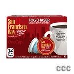 SAN FRANCISCO BAY ONECUP - LQ-12-FOG CHASER COFFEE, 47059