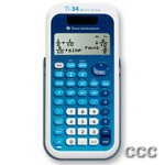 TEXAS TI-34MV 4-LINE - DUAL PWR FRACTION CALC, TI34MV