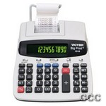 VICTOR 1310 10-12 DIGIT - HUGE PRINT THERMAL CALC, 1310