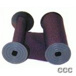 WIDMER S-3 COTTON - PURPLE CHECK RIBBON, 1000P