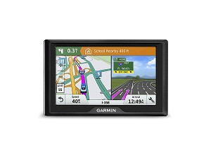 Garmin Drive 51 USA LM GPS Navigator System with Lifetime Maps Spoken Turn-By-Turn Directions, Direct Access, Driver Alerts, TripAdvisor and Foursquare Data