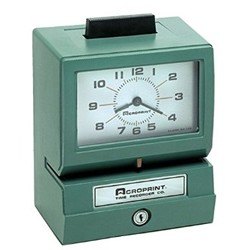 ACRO 125RR4 TIME CLOCK - MNTH,DATE,0-23HR/DEC HND, 125RR4