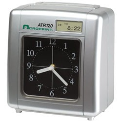 ACRO ATR120 ELECTRONIC - TOP FEED TIME CLOCK, ATR120