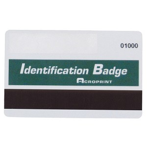 ACRO 14-0129-001 - BX/15 MAGNETIC BADGES, MAGBADGE