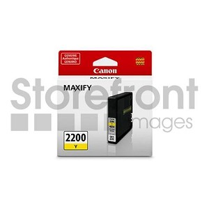 CANON MAXIFY MB5020 - PGI2200XL HI YELLOW INK, 9270B001